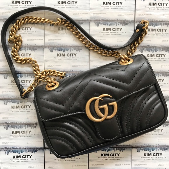 c3abc91d5ac Gucci GG Marmont matelassé mini bag